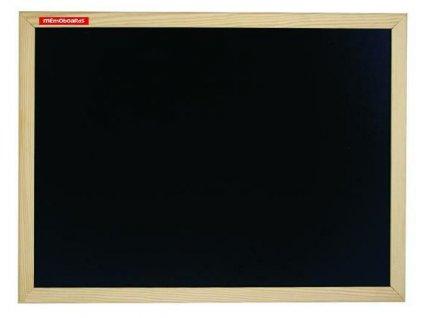 Memoboards, křídová tabule, dřevěný rám, 60 x 40 cm
