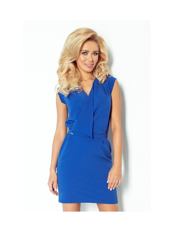 Modré mini šaty 94-3/M23