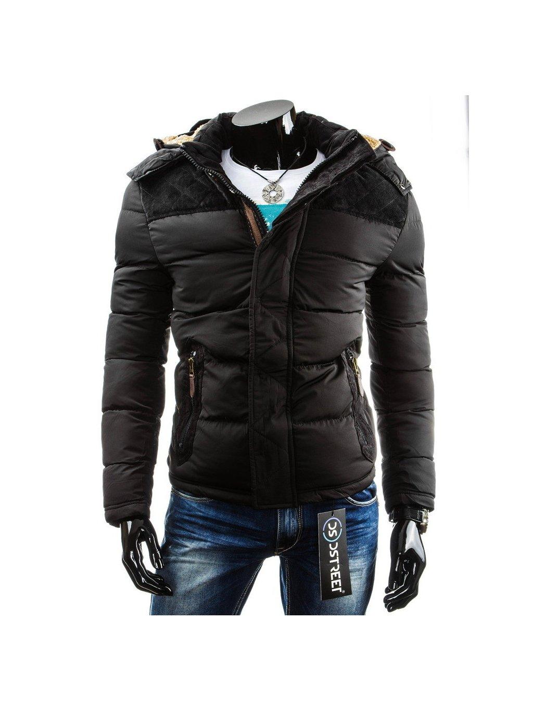 (vel. 3XL) Pánská černá bunda (tx0727)/170889 / N42