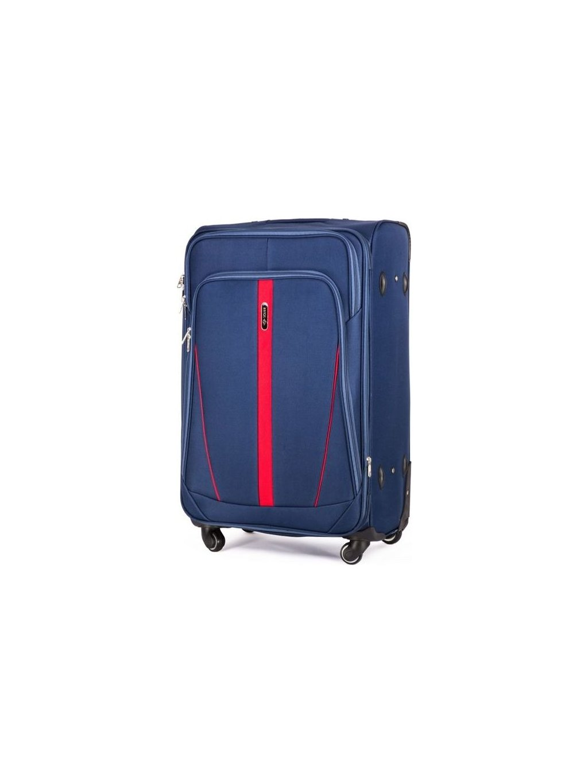SOLIER LUGGAGE Modrý cestovní kufr (STL1706 BLUE) - SKL