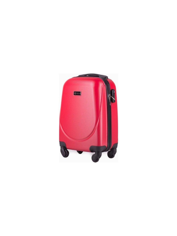 SOLIER LUGGAGE Červený cestovní kufr (STL310 RED) - SKL
