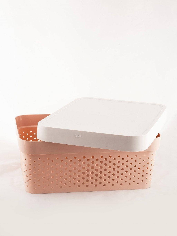 RŮŽOVÝ BOX S VÍKEM CH-PU-A-16438.35P-PINK