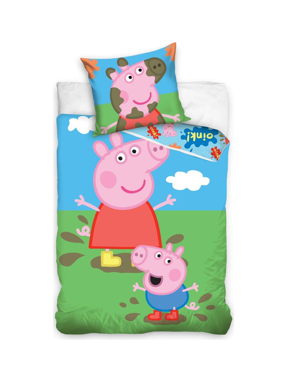 PEPPA PIG SET POVLEČENÍ 140X200 CM/ J26