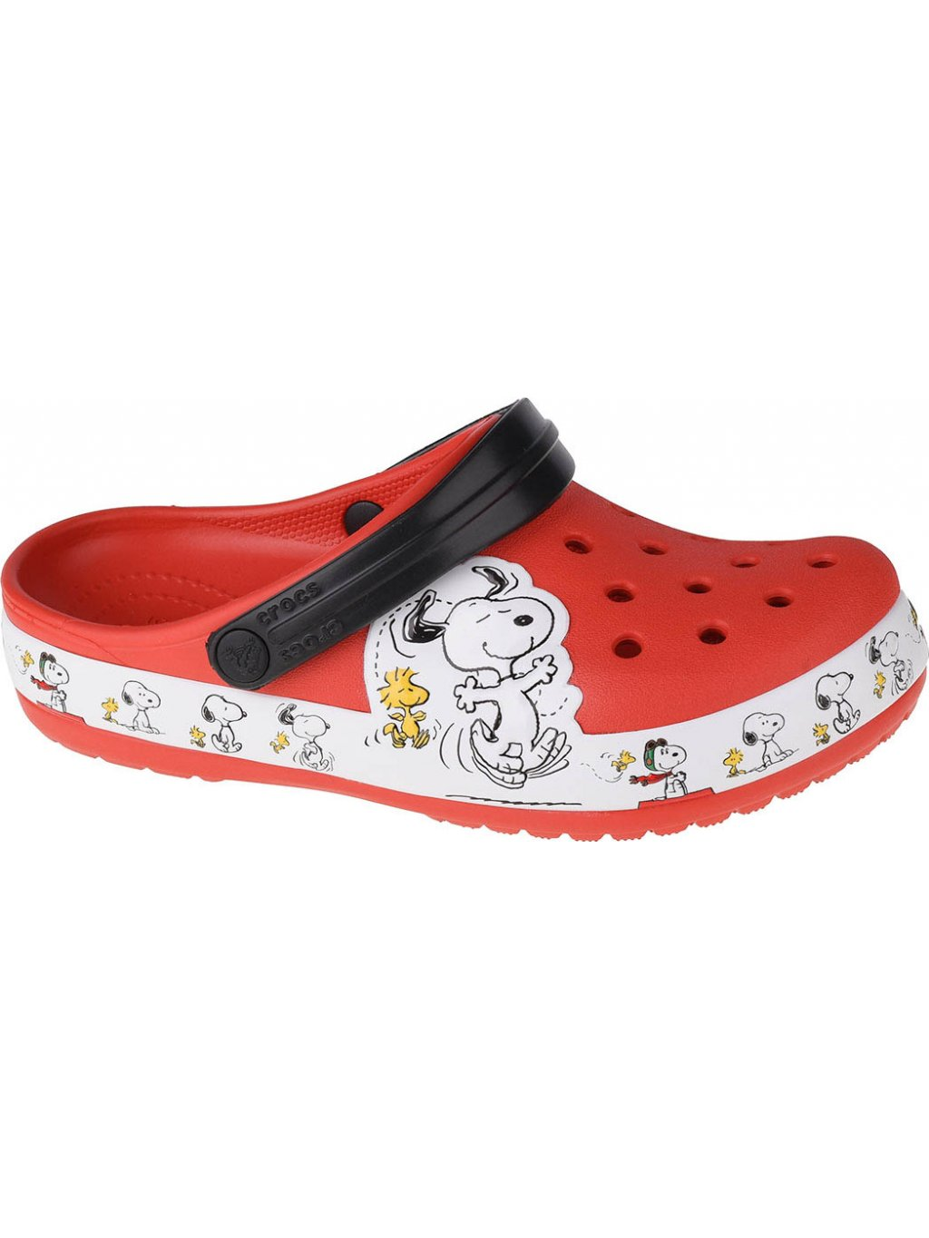CROCS FUN LAB SNOOPY WOODSTOCK K CLOG 206176-8C1