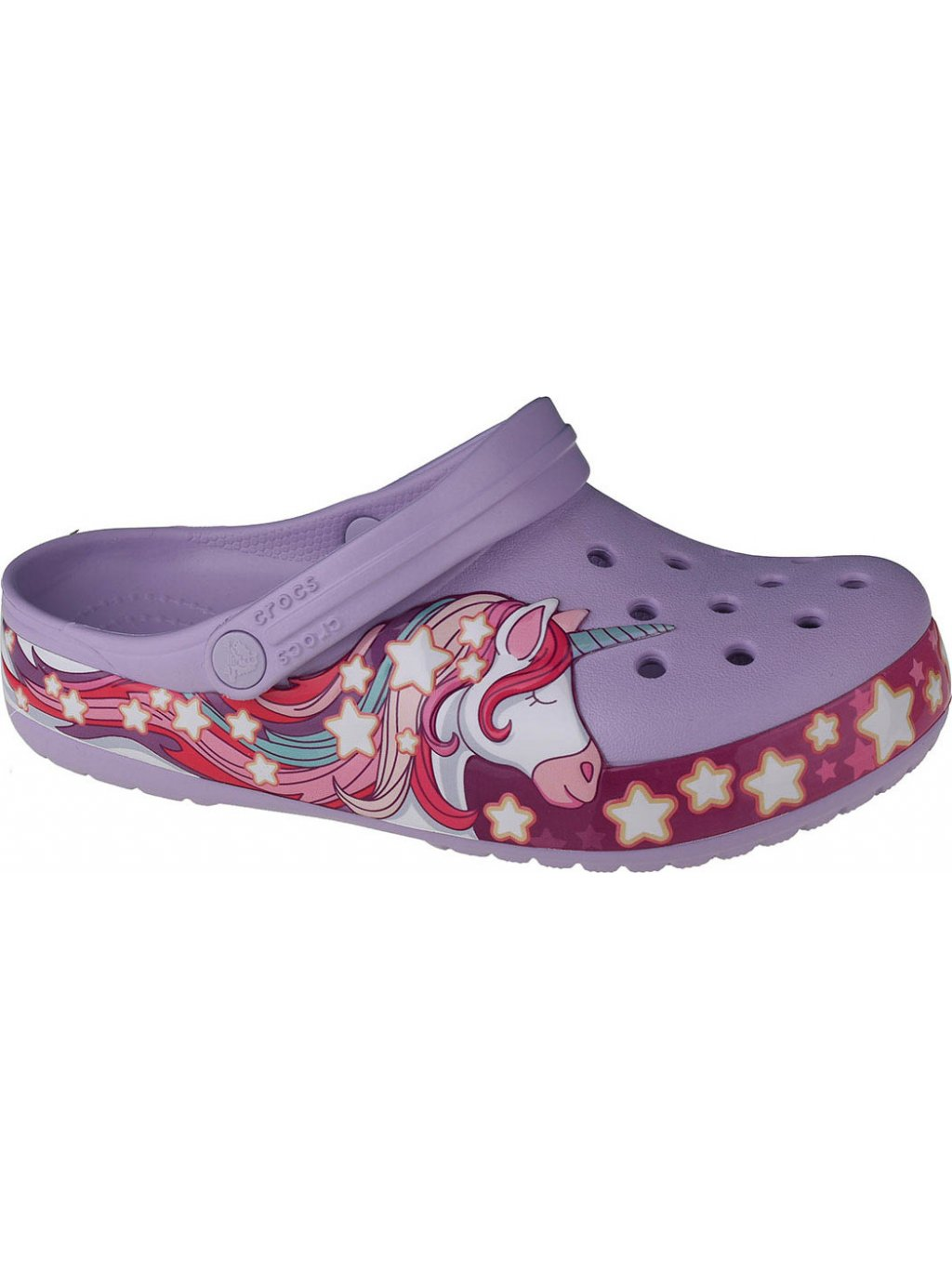 CROCS FUN LAB UNICORN BAND CLOG 206270-530