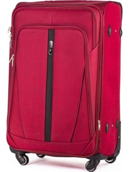 SOLIER LUGGAGE Červený cestovní kufr (STL1706 RED) - SKL