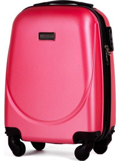 SOLIER LUGGAGE Korálový cestovní kufr (STL310 ROSE RED) - SKL