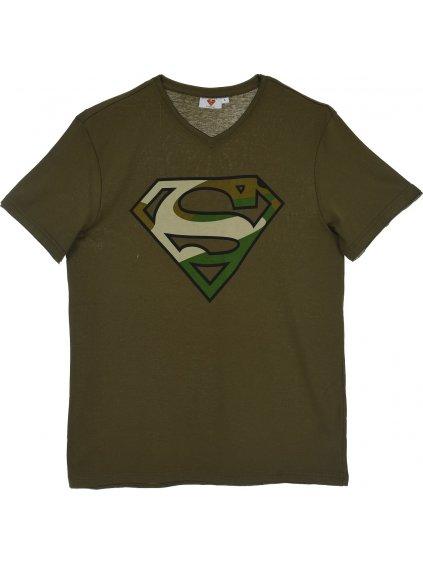 SUPERMAN - ZELENÉ CHLAPECKÉ TRIČKO