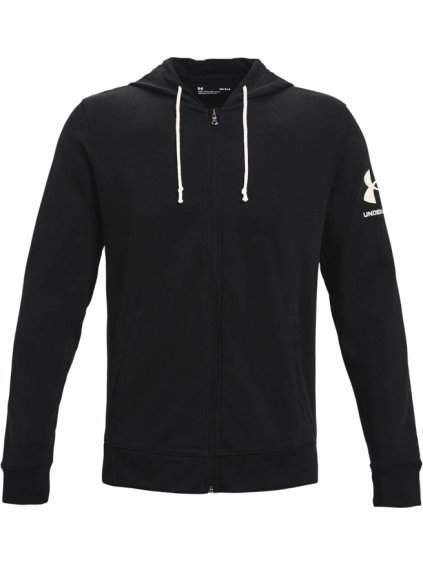 UNDER ARMOUR RIVAL TERRY FULL ZIP HOODIE 1361606-001
