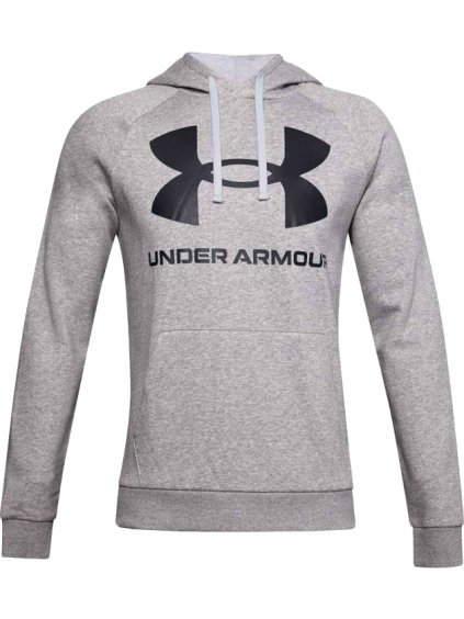 UNDER ARMOUR RIVAL FLEECE BIG LOGO HOODIE 1357093-011