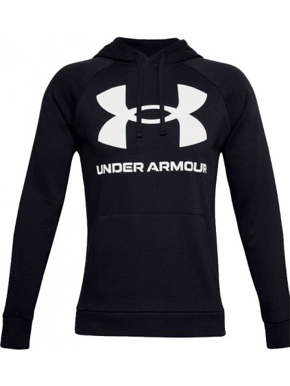 UNDER ARMOUR RIVAL FLEECE BIG LOGO HOODIE 1357093-001