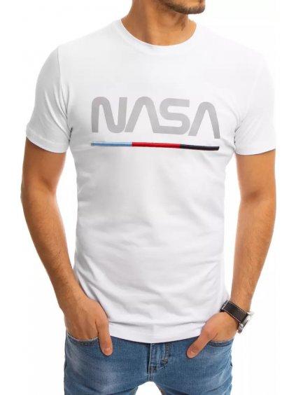 BÍLÉ TRIČKO NASA RX4550