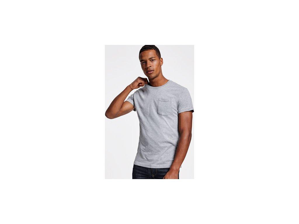 Pánske tričko s vreckom TECKEL