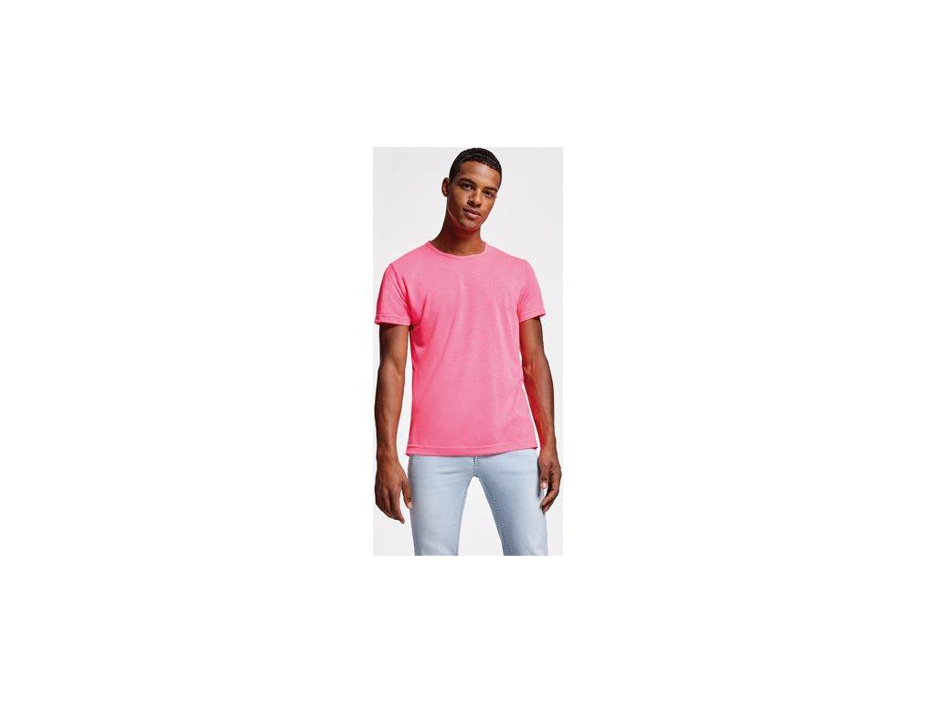 Pánske a detské tričko neónové farby AKITA