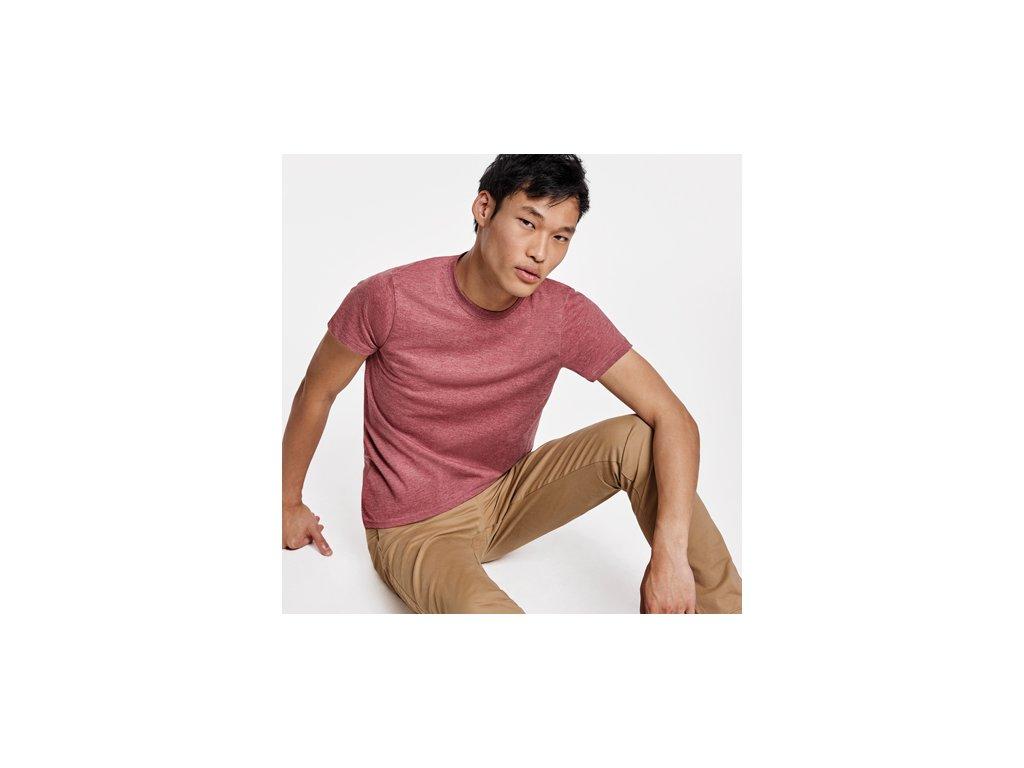 Pánske melírové tričko FOX