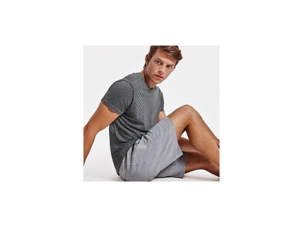 Pánske tričko s krátkym rukávom BAKU