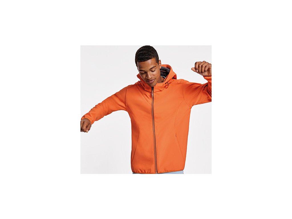 Pánska softshellová bunda s kapucňou SIBERIA, viac farieb