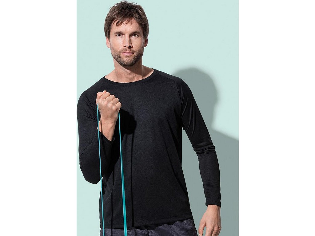 Pánske tričko Active 140 s dlhými rukávmi