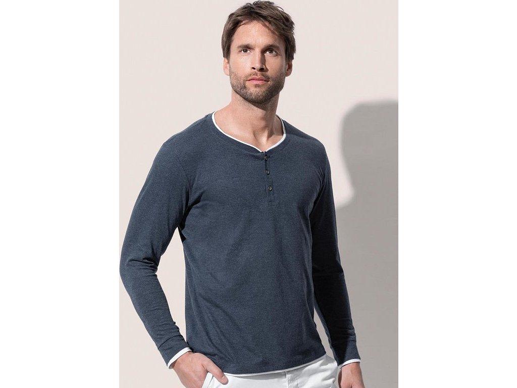 Pánske tričko Luke s dlhými rukávmi