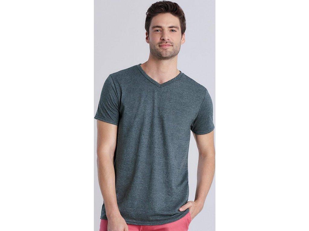 Pánske tričko Softstyle® V-Neck