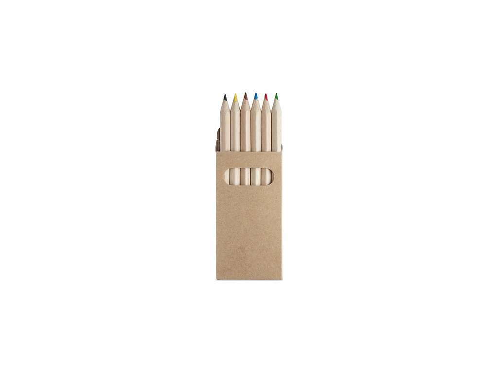 Sada 6 drevených ceruziek AMAZONIA
