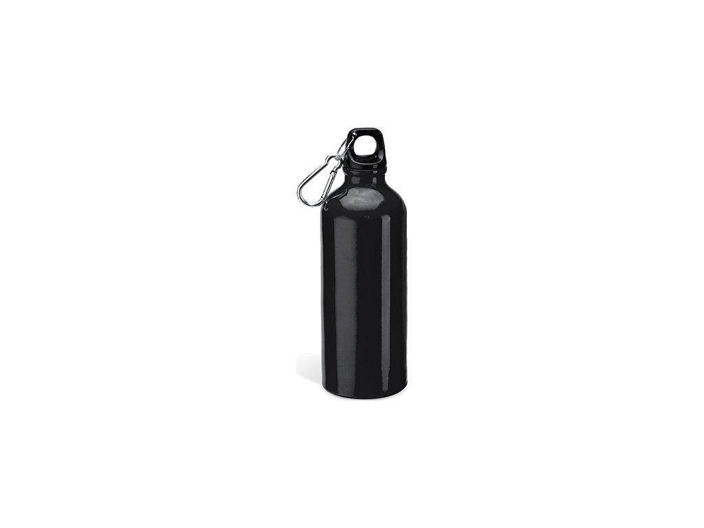Hliníková fľaša s karabínkou BAOBAB