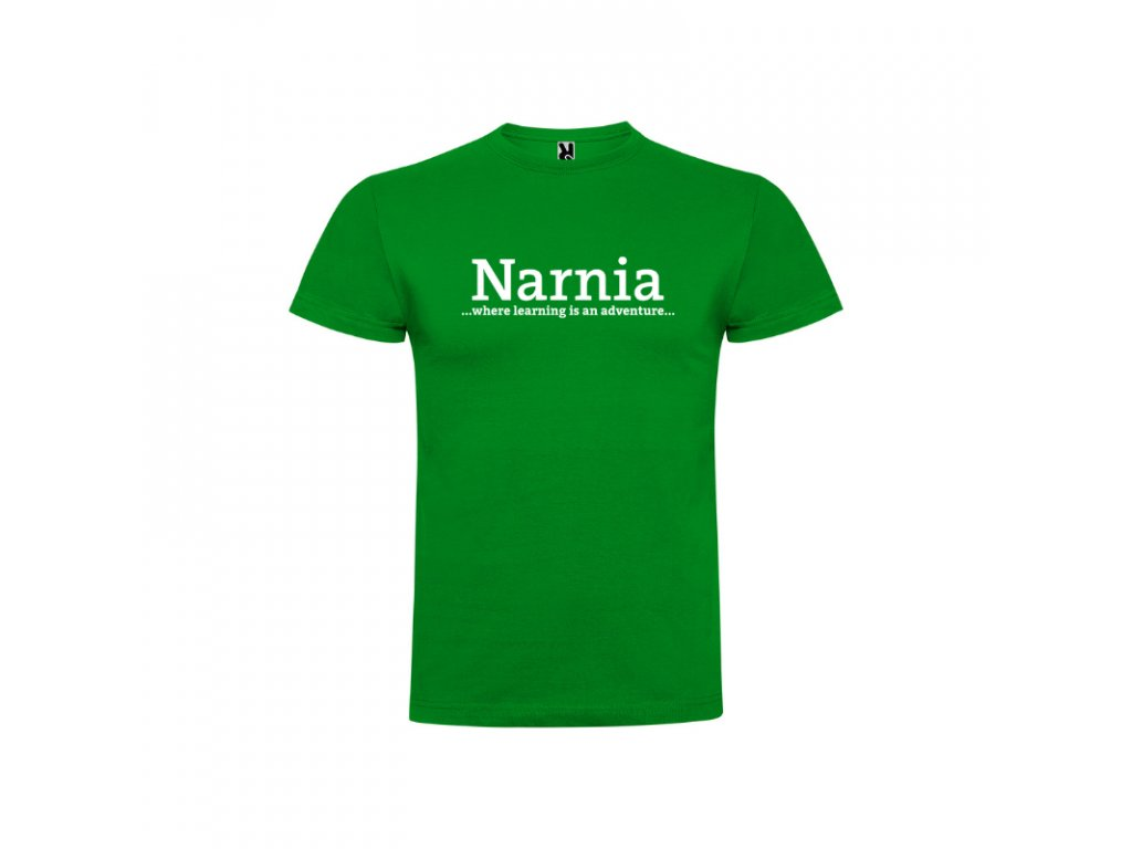 Pánske tričko Braco Narnia nápis vpredu