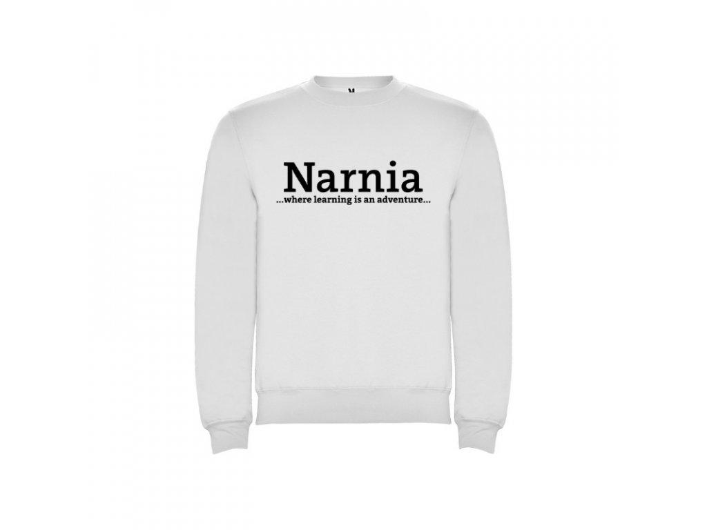 Pánska mikina Clasica Narnia nápis vpredu
