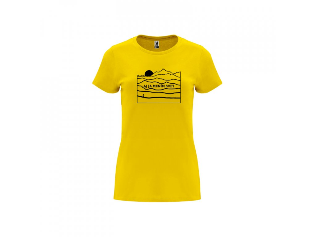 Dámske tričko Capri Narnia Aj ja mením svet