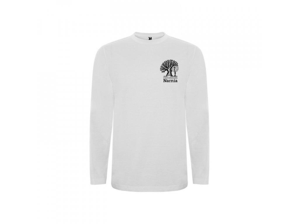 Detské tričko dlhý rukáv  Narnia malé logo