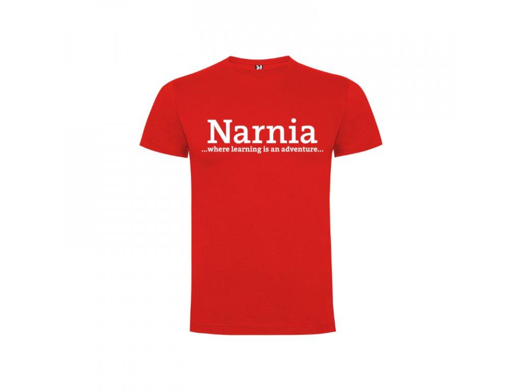 Chlapčenské detské tričko Dogo Narnia nápis vpredu