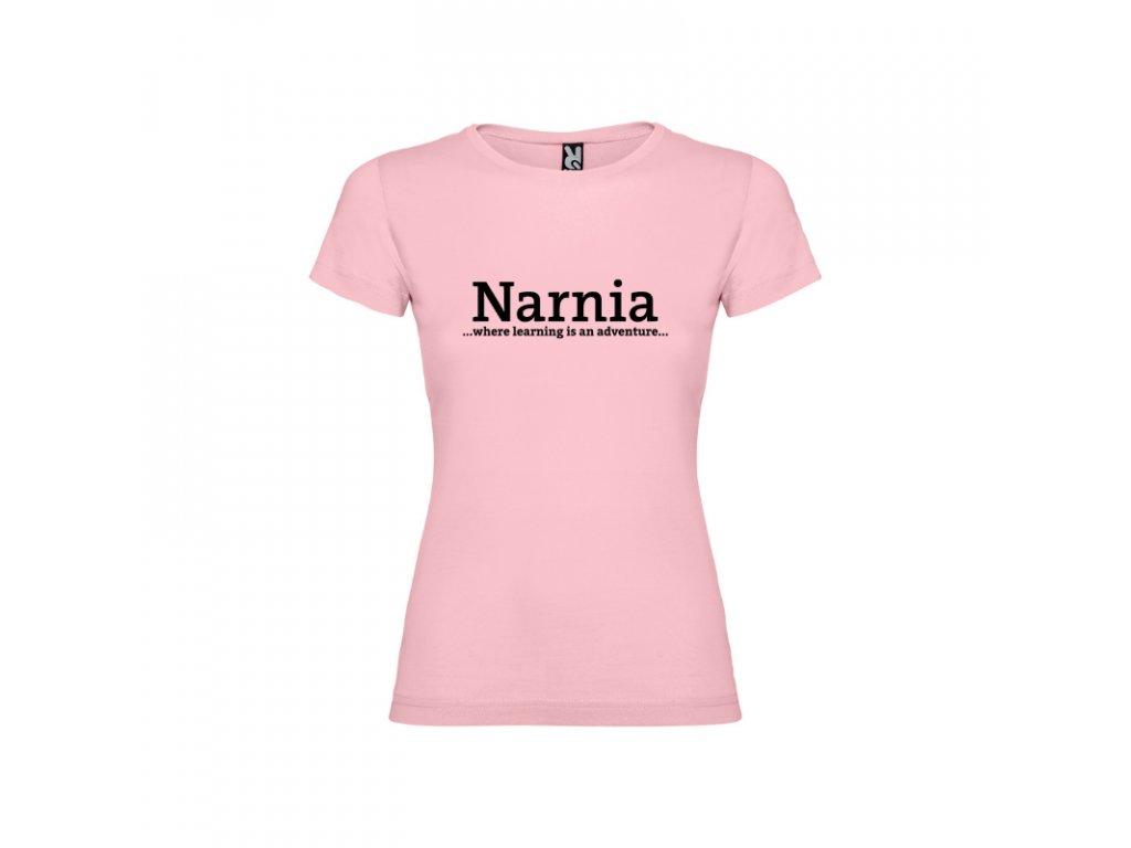 Dievčenské detské tričko Jamaica Narnia nápis vpredu