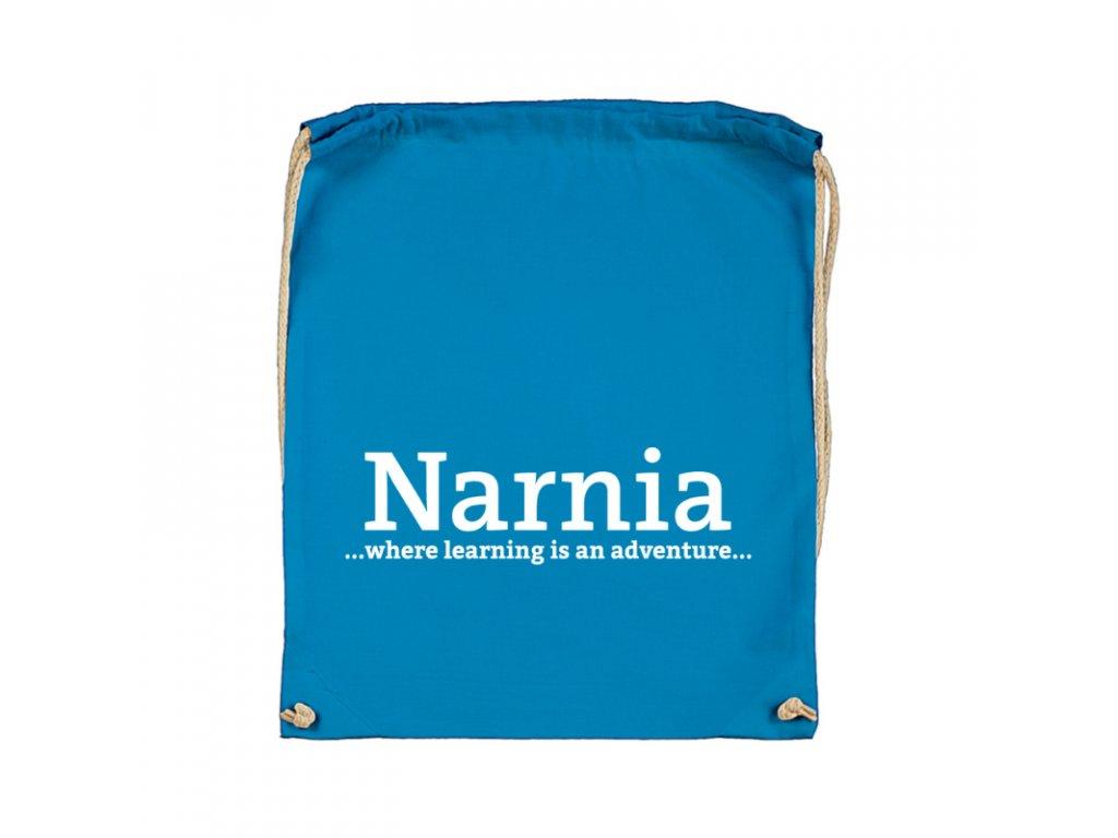 Šnúrkový ruksak Narnia nápis Narnia