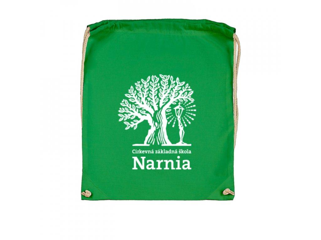 Šnúrkový ruksak Narnia veľké logo
