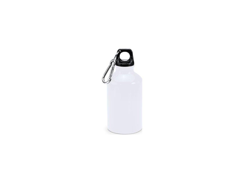 Hliníková fľaša s karabínou YACA