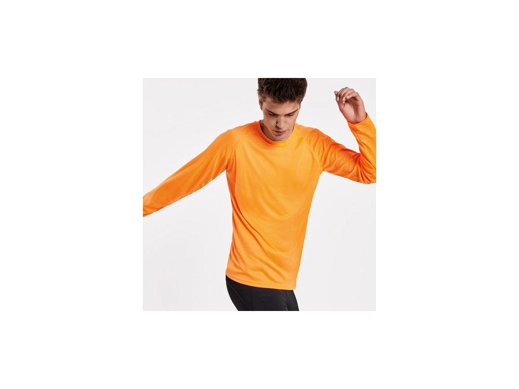 Pánske a detské športové tričko MONTECARLO dlhý rukáv, 12 farieb