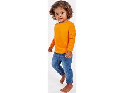 Kojenecké tričko s dlhým rukávom BABY L/S, viac farieb