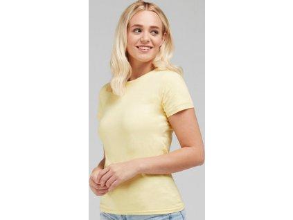 Dokonale potlačiteľné dámske tričko bez štítku
