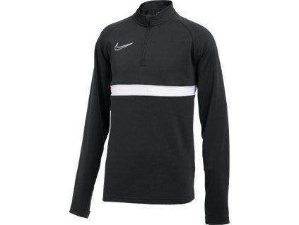 Detská tréningová mikina Nike DF Academy 21 Dril Top čierna CW6112 010