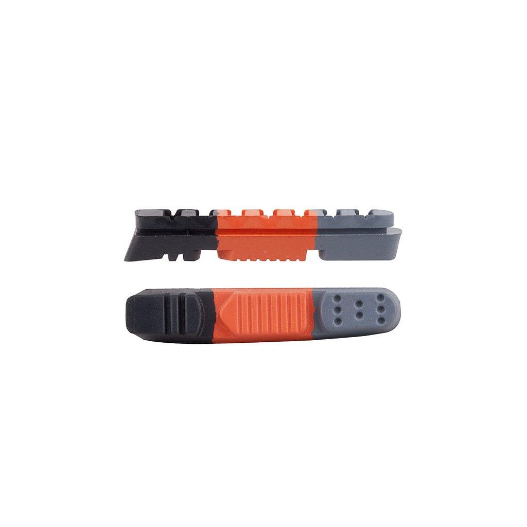 Brzdové gumičky PRO-T Plus Cartridge třísměsová silniční inbus