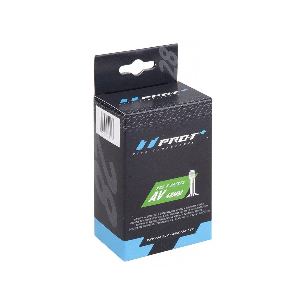 Duše PRO-T Plus 700x28-37C (28/38-622/630) AV 48mm v krabičce