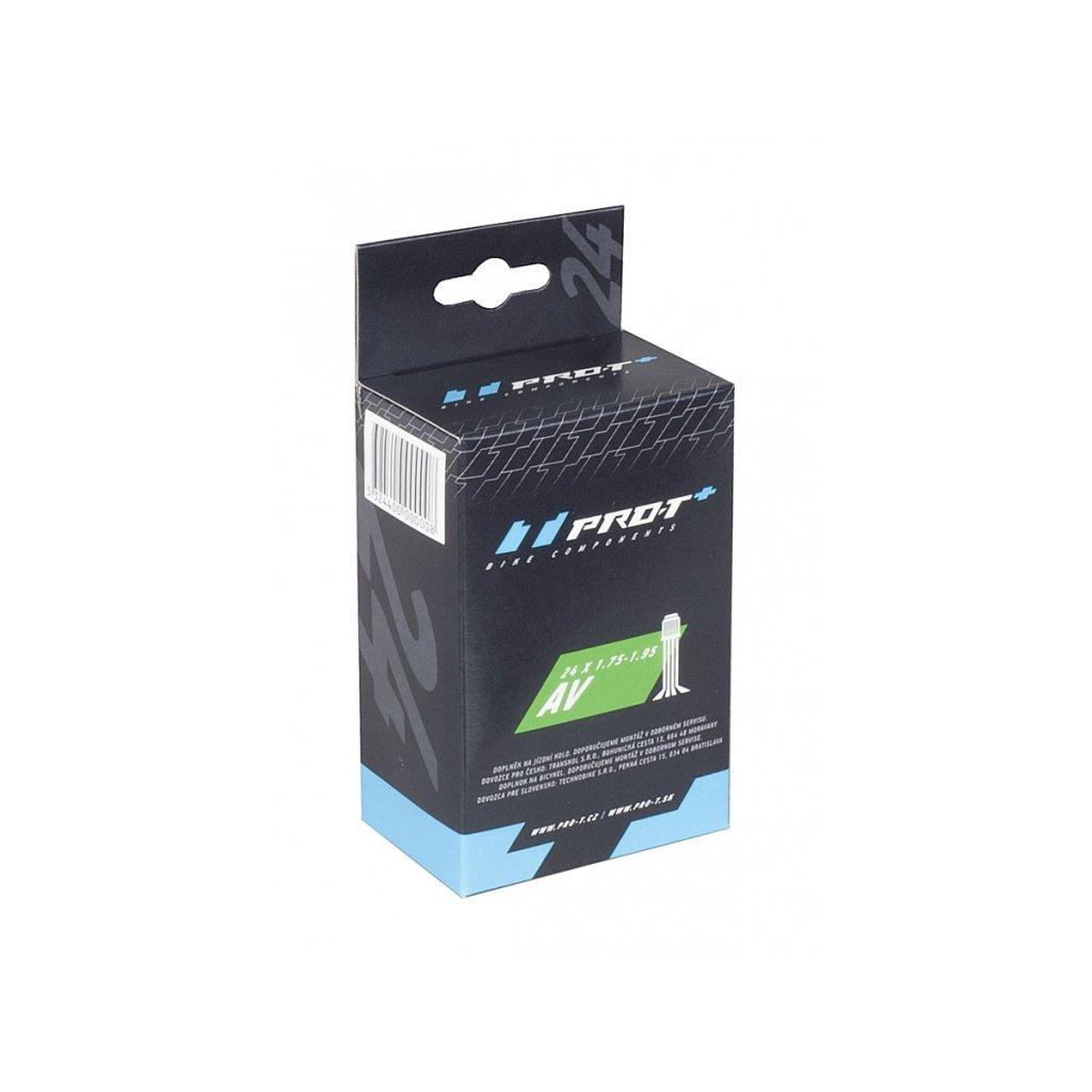 Duše PRO-T Plus 700x25C (25-622) AV v krabičce