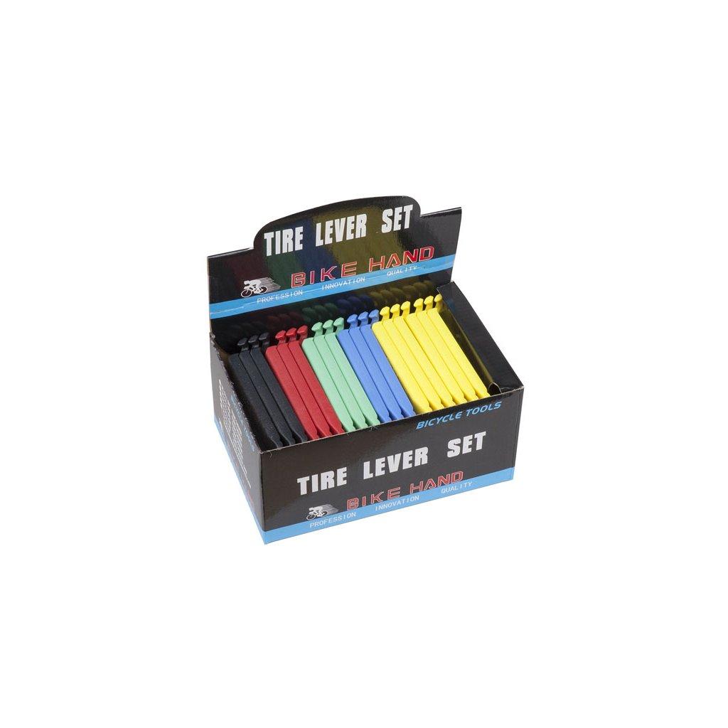 Montážní páčka BIKE HAND plast tvrzená (box 30 x 3ks)