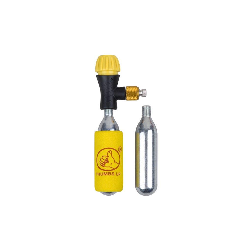 Pumpa THUMBS UP CO2 na bombičky + 2 bombičky