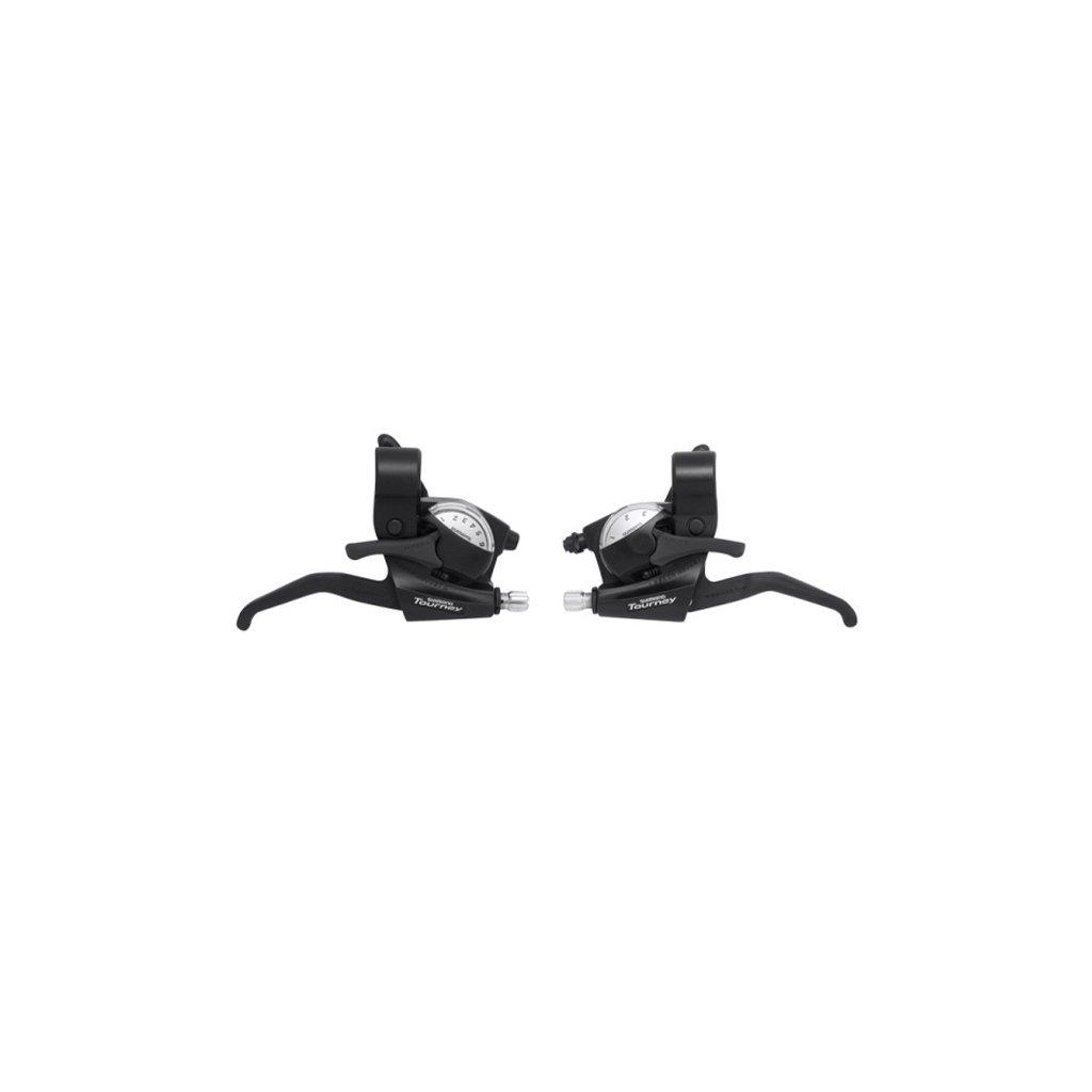 Řadící + brzdové páky SHIMANO STEF 41 3x6 kolečko V-brake