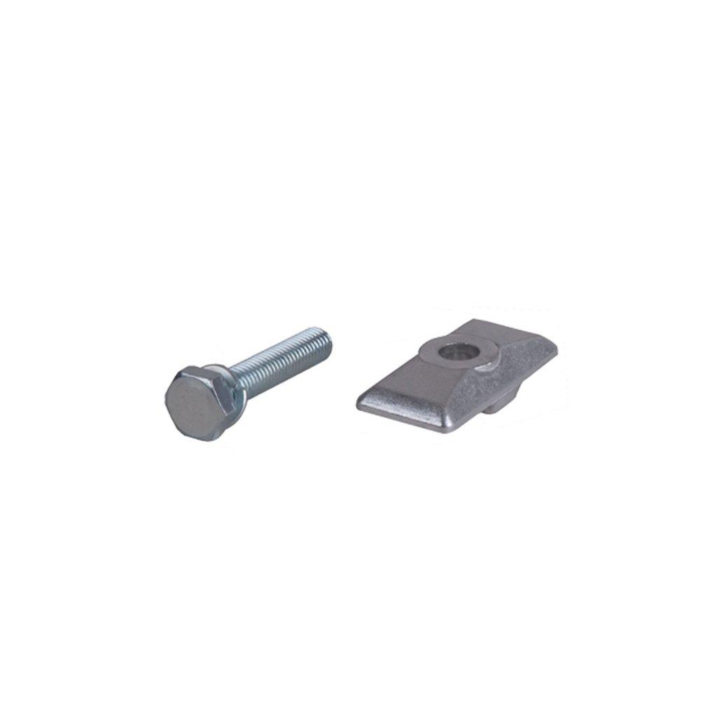 Protikus ke stojánku URSUS se šroubem stříbrný (5ks)