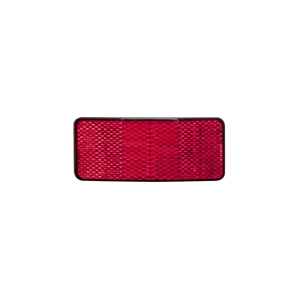 Odrazka zadní na nosič 2 šrouby (10ks)
