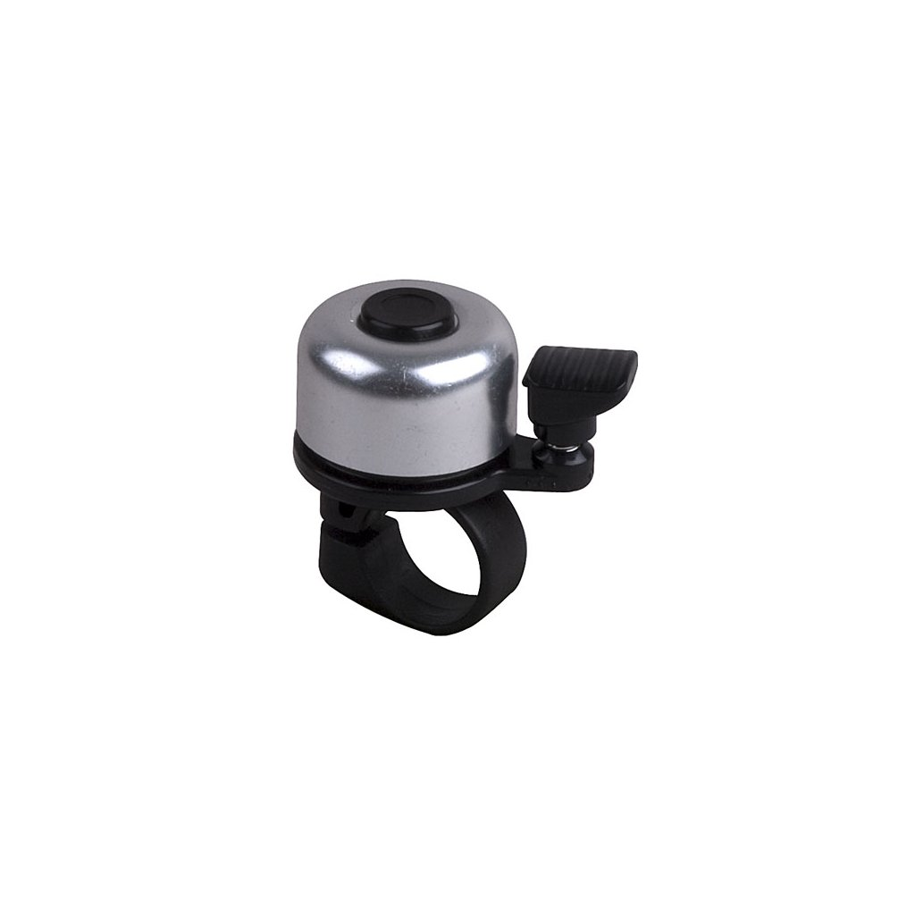 Zvonek PRO-T mini stříbrný dural