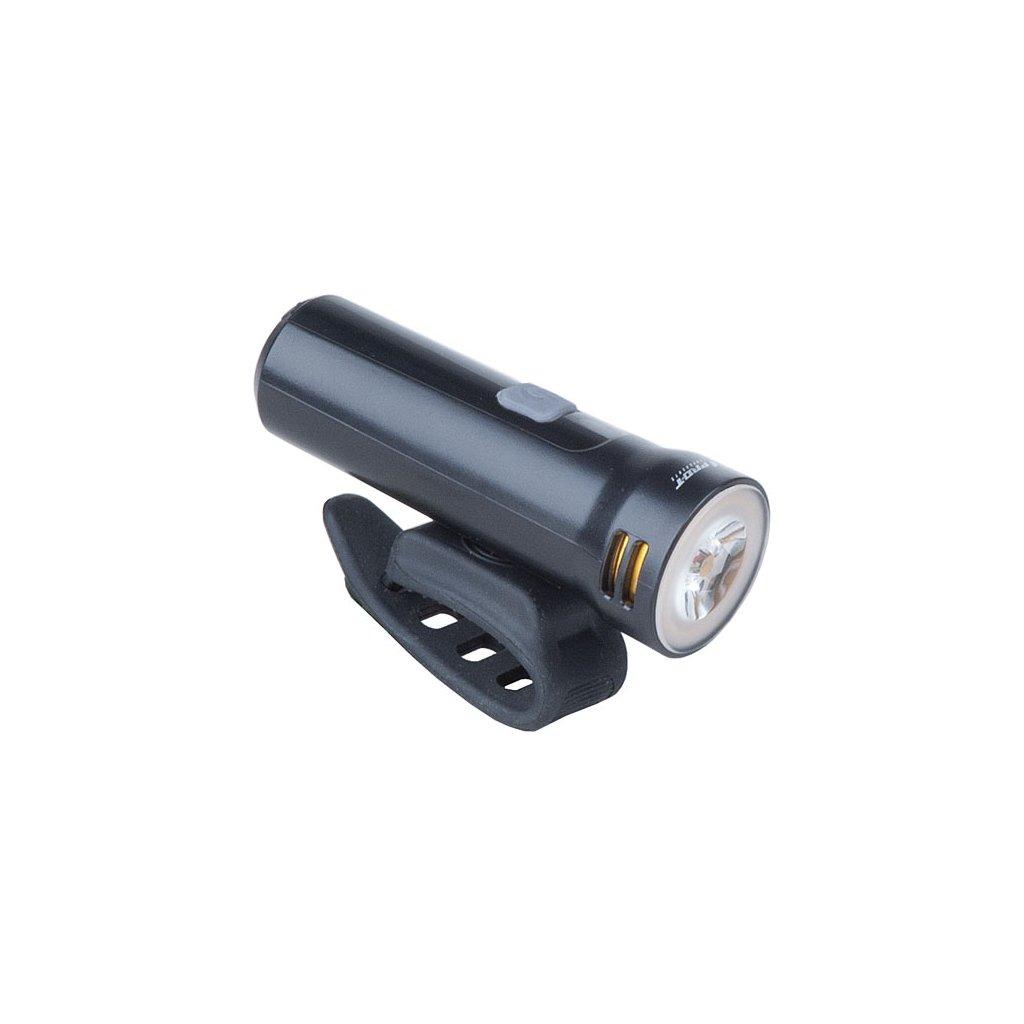 Světlo přední PRO-T Plus 800 Lumen 1 Super LED dioda nabíjecí přes USB 7205