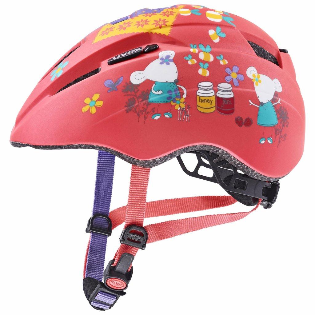 Cyklistická přilba Uvex Kid 2 CC - coral mouse mat (46/52)